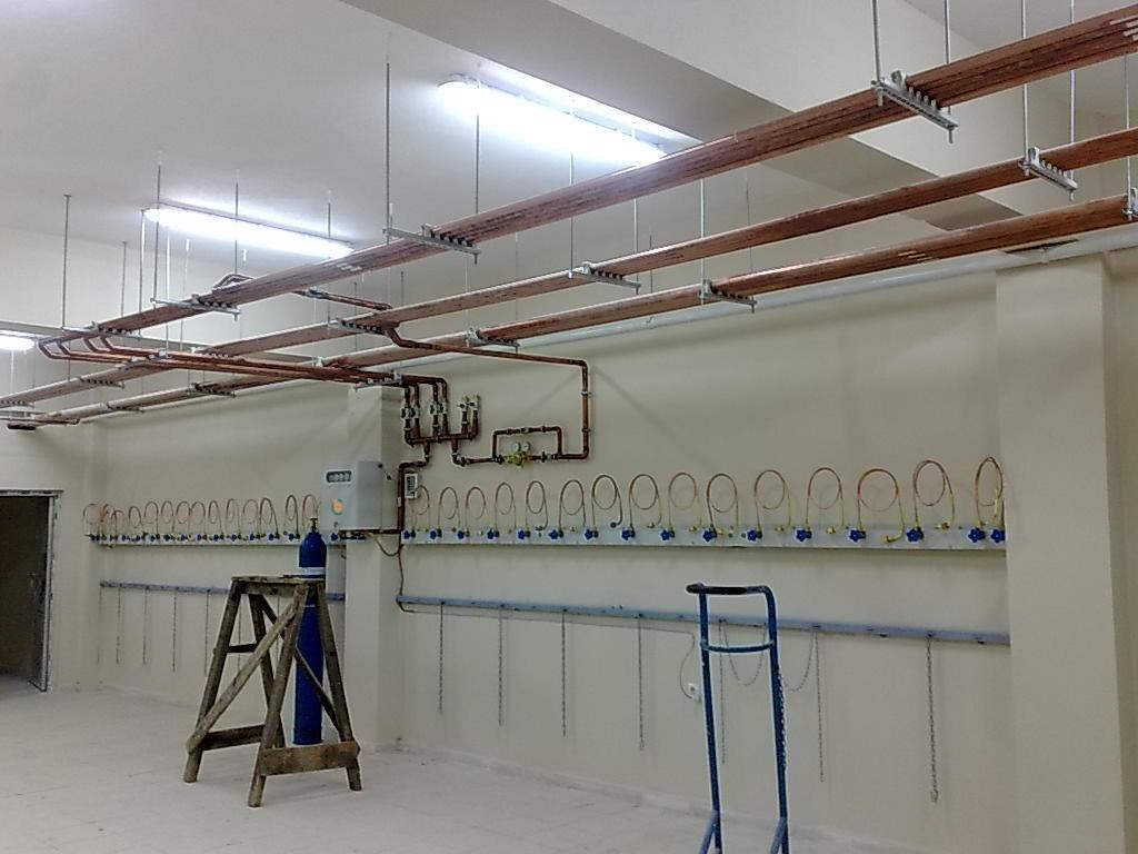 Manifold Sistem Tüplü Tıbbi Gaz Santralleri